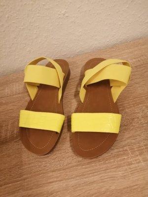 Graceland Flip-Flop Sandals neon yellow