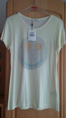 NEU Damen Shirt Glitzer Motiv Gr.M in Gelb von Malvin P.49,90€