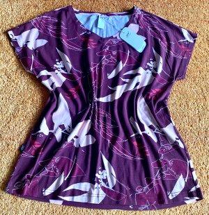 Joy Short Sleeved Blouse multicolored cotton