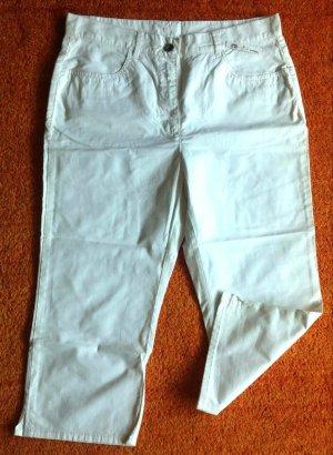 Spodnie Capri biały Bawełna