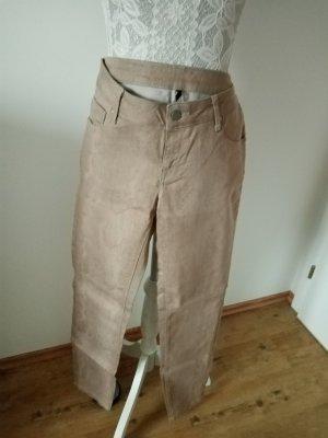 Benetton Jersey Pants bronze-colored