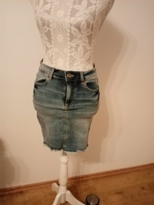 Neu! Damen Stretch Jeans Rock gr 36   Pieces