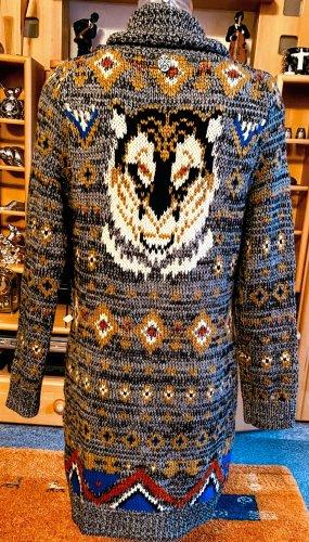Khujo Cappotto a maglia multicolore Lana