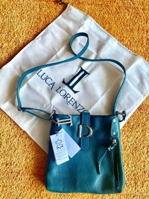 NEU Damen Tasche Umhängetasche Leder Grün von Luca Lorenzo P.149€