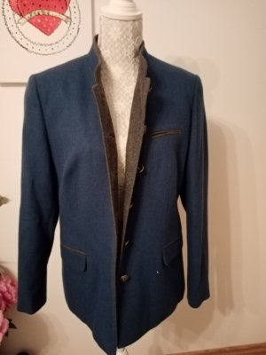 Herzklopfen Folkloristische jas korenblauw