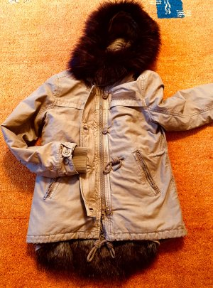 NEU Damen Winter Jacke Kapuze Gr.S in Beige von Khujo