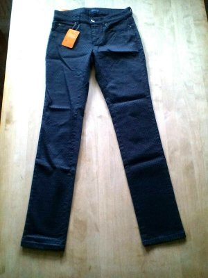 Darling Harbour Skinny Jeans dark blue cotton