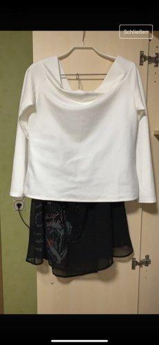 Desigual Spódnica midi czarny-biały