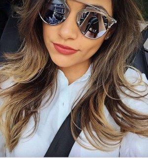Dior Pilotenbril zilver