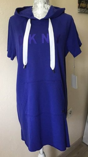 Neu DKNY Kleid mit Kapuze Gr.M-L