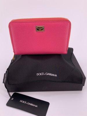 Dolce & Gabbana Portefeuille magenta