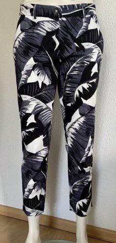 Neu Dolce & Gabbana Hose Gr. 34 schwarz/weiß/grau