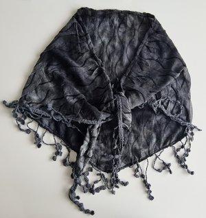 Pañoleta negro-gris