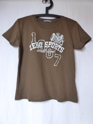 NEU: Dunkelbraunes T-Shirt von Zero