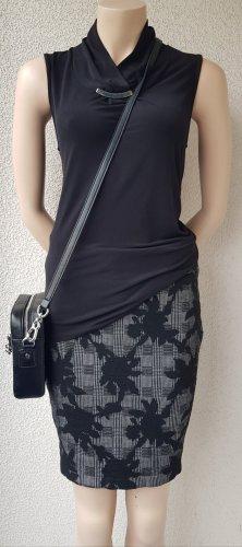 Frieda & Freddies New York Miniskirt black-light grey