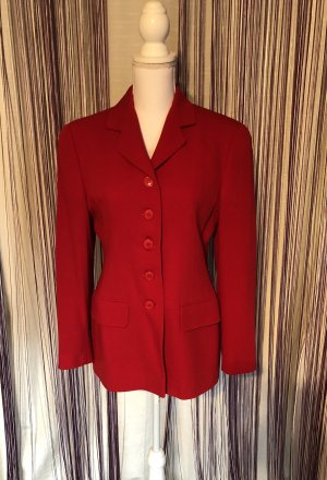 Neu! Elegante rote Wolle Jacke