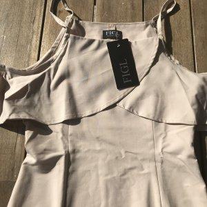NEU Elegantes Kleid Figl 38 M Cut Out Schulterfrei Business Off Shoulder Carmen Ausschnitt Sommer Marken Kleid
