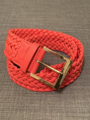 Elisabetta Franchi Faux Leather Belt multicolored leather
