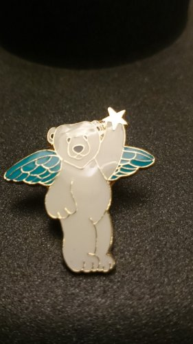 NEU! Emaille Pin Alaska Angel