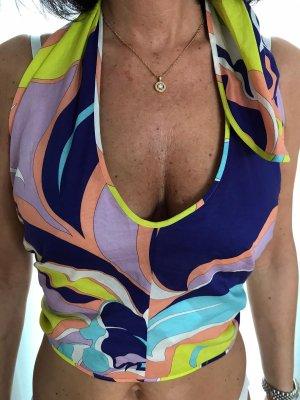 Emilio Pucci Haut type corsage multicolore