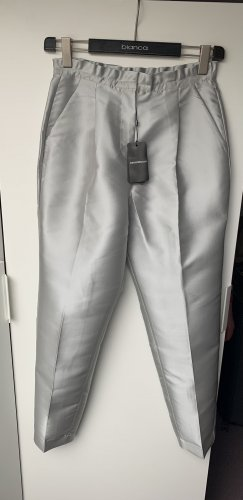 Emporio Armani Jersey Pants silver-colored-sage green