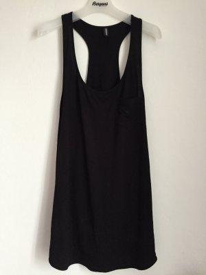 neu emporio armani kleid schwarz S 36 38 badekleid hängerchen