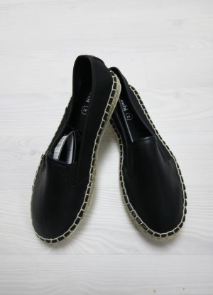 Slip-on Shoes black-white