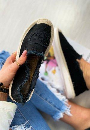 stylelistic Espadrillas nero-marrone chiaro