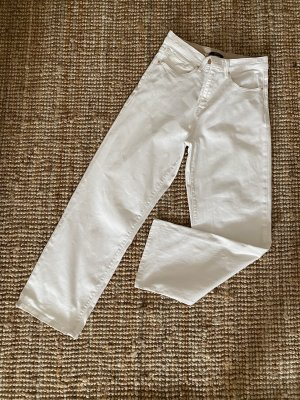 Neu! ESPRIT COLLECTION off white straight leg cropped Jeans / 29/28