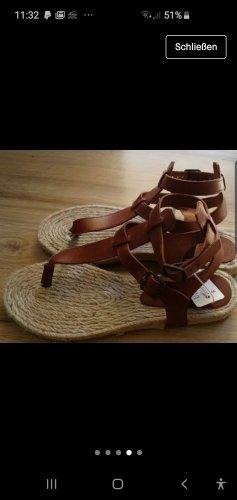 Neu Esprit Leder Sandale in Gr 36