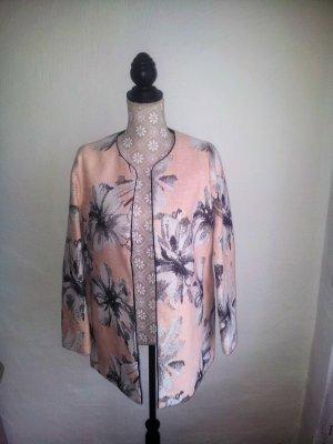 NEU - ESPRIT, Longblazer/Kimono, M, Rosé mit Blumen, NP 139€ - SUPER STYLISH