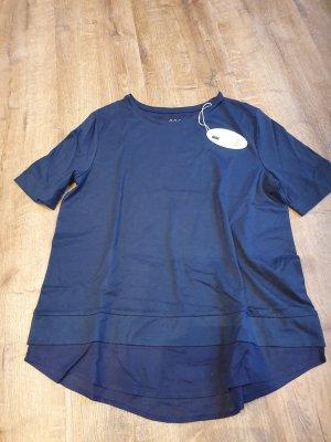 Neu Esprit Longshirt in Dunkelblau Gr S