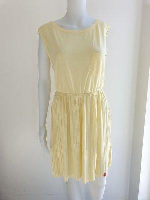 Neu Esprit M Plissee Kleid Midikleid Sommerkleid Partykleid Plisee Dress Plise Falten Rock Pullover