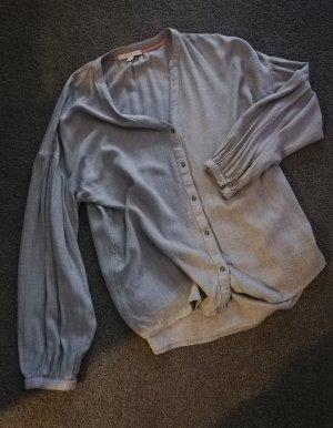 NEU: Esprit Oversize Bluse in Grau