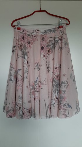 Esprit Flared Skirt multicolored polyester
