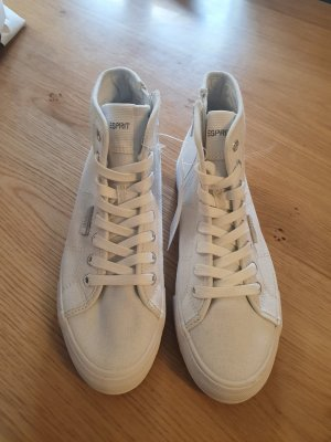Neu Esprit Sneaker in Weiß Gr 37