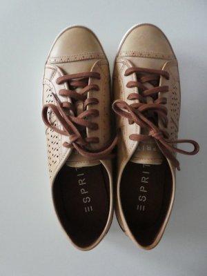 NEU - Esprit – Sneaker low Megan , cognac