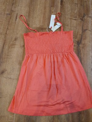 Edc Esprit Top con bretelline arancione-albicocca