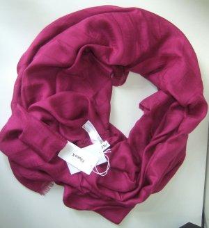 Filippa K Châle au tricot magenta modal