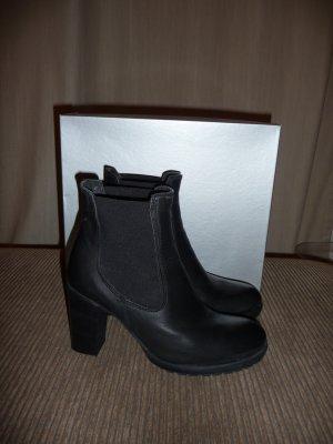 Neu F&G Chelsea Boot Black Leather Gr. 39 Modell Kola