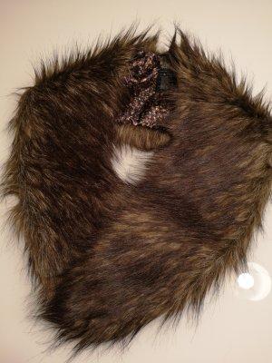 NEU! Fake Fur Schalkragen H&M