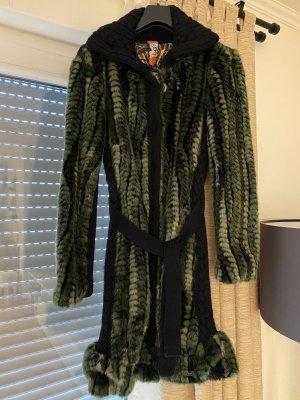 NEU Fake Fur Wintermantel Desigual Gr. 38