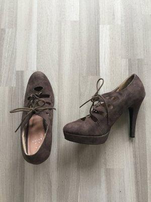 ++ NEU ++ Fashion Schnür High Heels ++ only top Akira Pumps