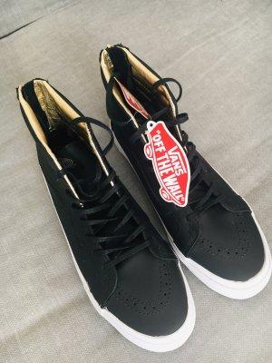 Neu ✨Feine Vans, ungetragen⚡️Innen gold✨Vans Hightop Sneaker , Turnschuhe, Leder