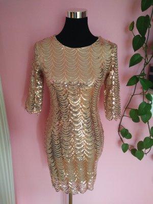 NEU, Festliches Kleid mit Pailetten für Silvester/Party (Box 9)