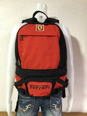 Ferrari Backpack Trolley red-black