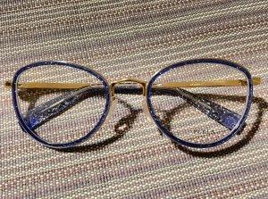 Furla Gafas color oro-azul