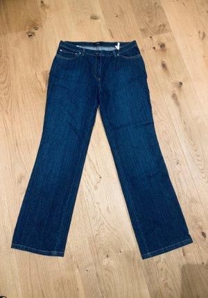 NEU -gerade blue Jeans von Antonette mit Strass Gr. 44/ 2XL
