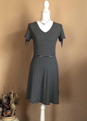 Colins Midi Dress dark blue-white