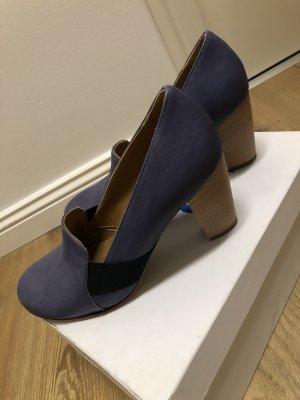 NEU ❤️ Gidigio Pumps blau ❤️ 36,5 37,5 39,5